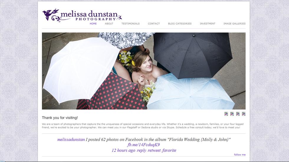 Arizona wedding website blogsite