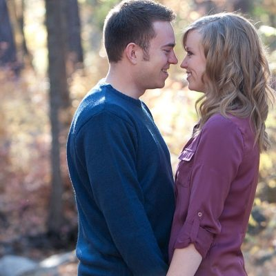 A Paper Proposal Feature on Amy & Rick's Fall Engagement! {Sedona Wedding Photography}