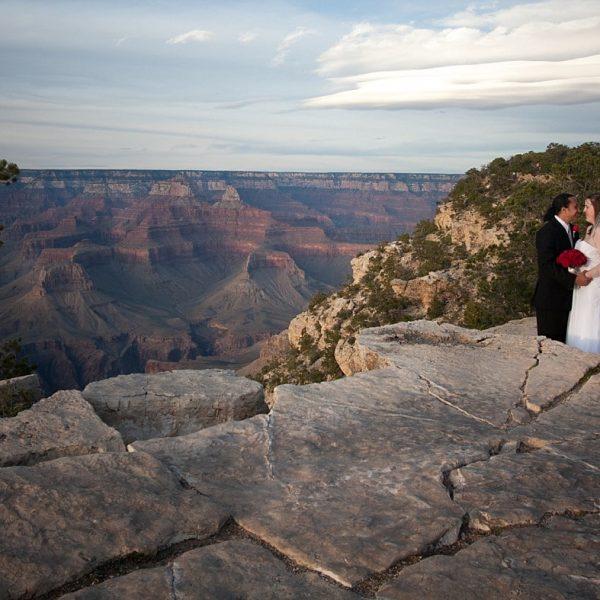 Jennifer and Nishav Grand Canyon Elopement {Arizona Wedding Photography}