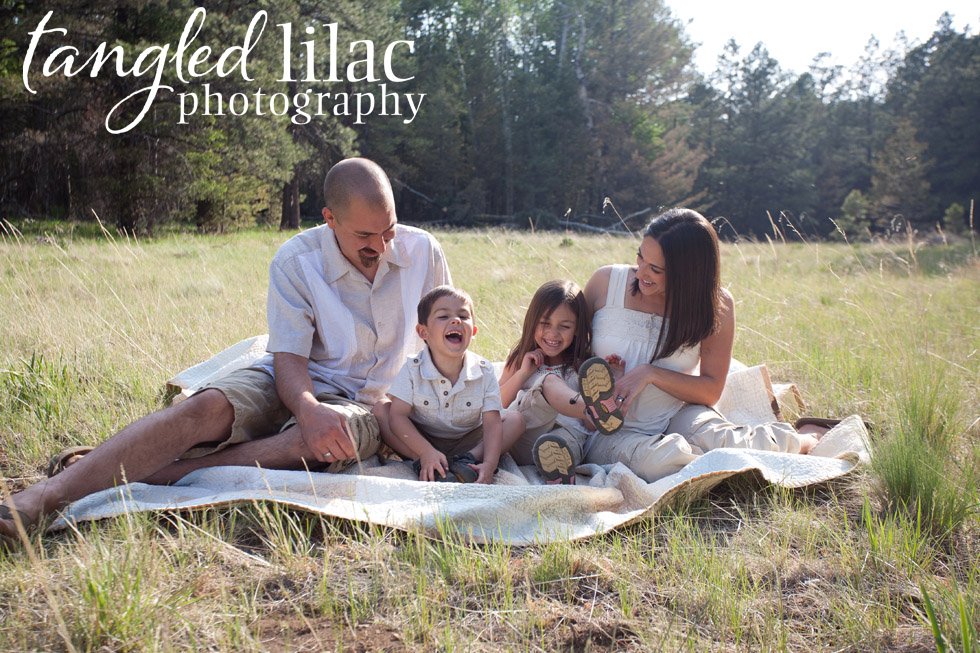 Outdoor Flagstaff Family Photography, summer Bismark Lake