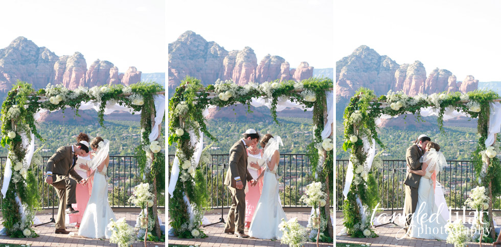 wedding ceremony, sky ranch lodge, sedona wedding photography