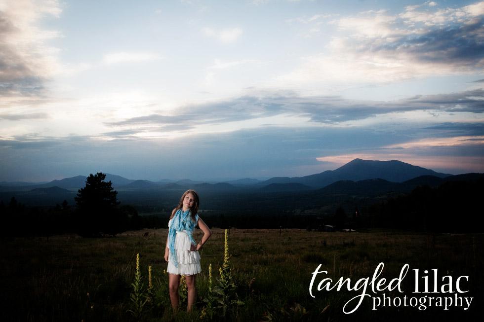 Flagstaff High School, Senior Photography, Flagstaff Portrait