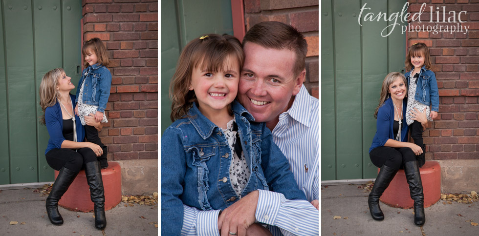 mom and dad, little girl, flagstaff family photography, outdoor portrait