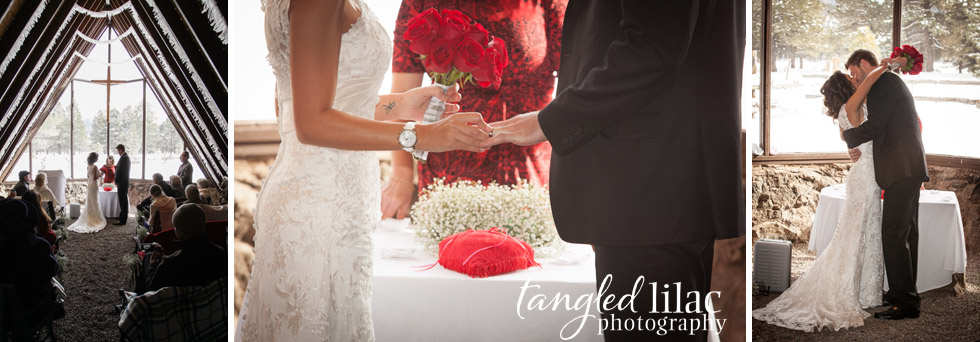 wedding rings, bride and groom, flagstaff wedding Photography, Chapel