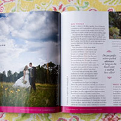 Feature in Arizona Bride { Press | Tangled Lilac Photography}