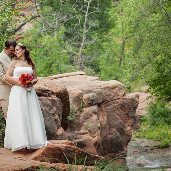 Aimee & Matt's West Fork Wedding {Sedona Wedding Photography}