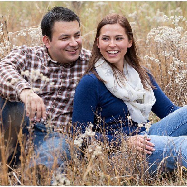 Josette and Brett's Oak Creek Engagement {Sedona Wedding Photography}