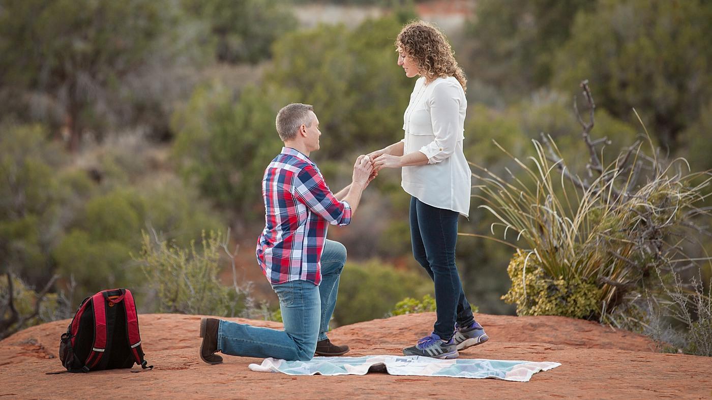 Sedona Surprise Proposal