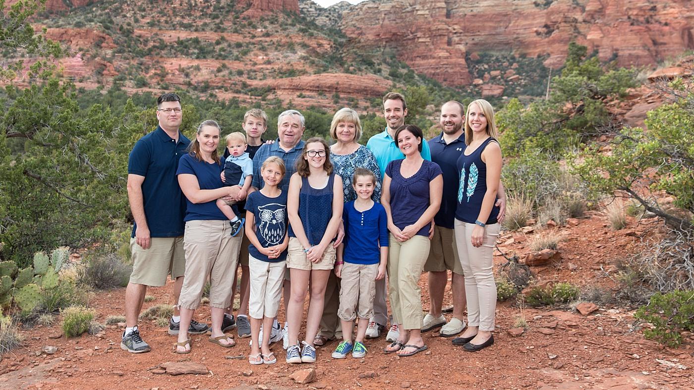 Sedona Family Photography
