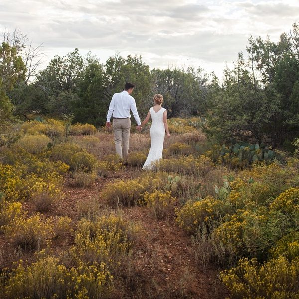 Romantic Vintage Wedding at Sky Ranch Lodge {Sedona Wedding Photographer}