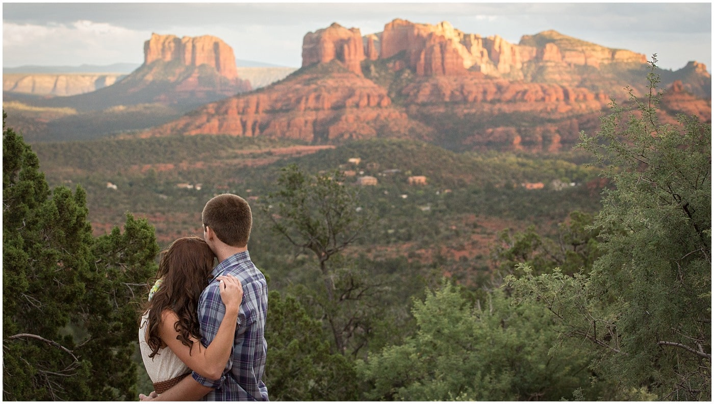 Sedona Sunset Engagement