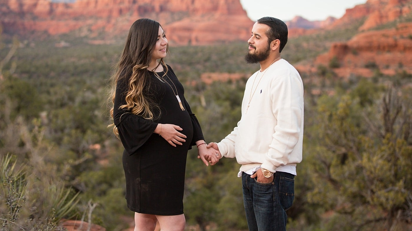 Sedona Maternity Session