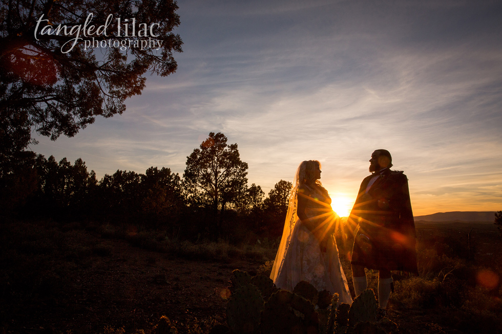 Sedona Elopement Stunning Photos
