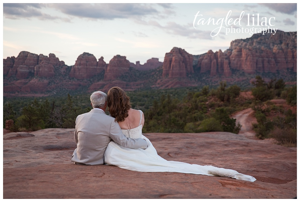 Sedona Elopement Breathtaking Views