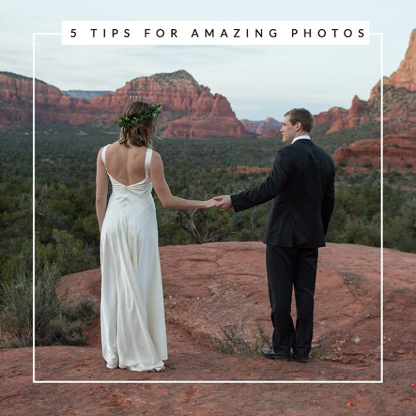 Create Stunning Sedona Elopement Photos with These 5 Tips