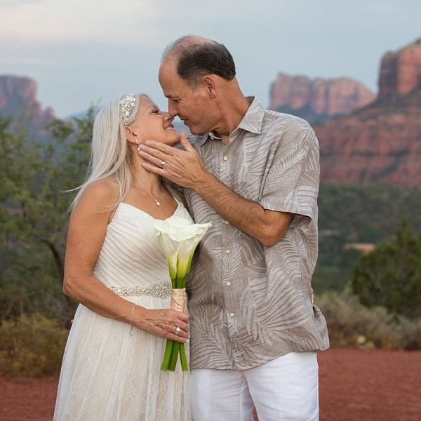 A Sedona Elopement at Red Rock Crossing and Overlook