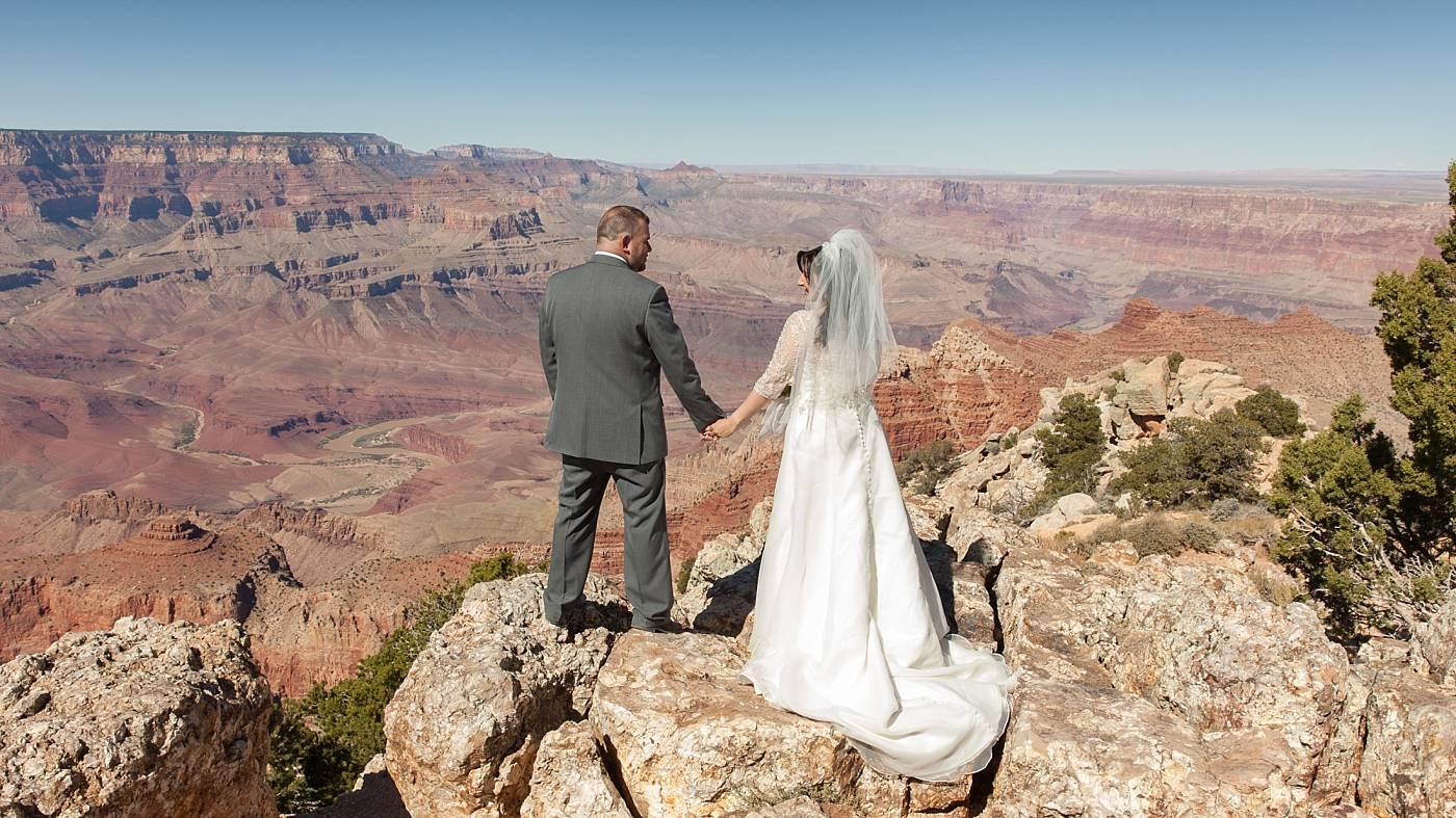 Grand Canyon Wedding Lipan Point