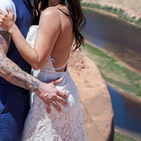 Horseshoe Bend Elopement with Ivana and Kyle