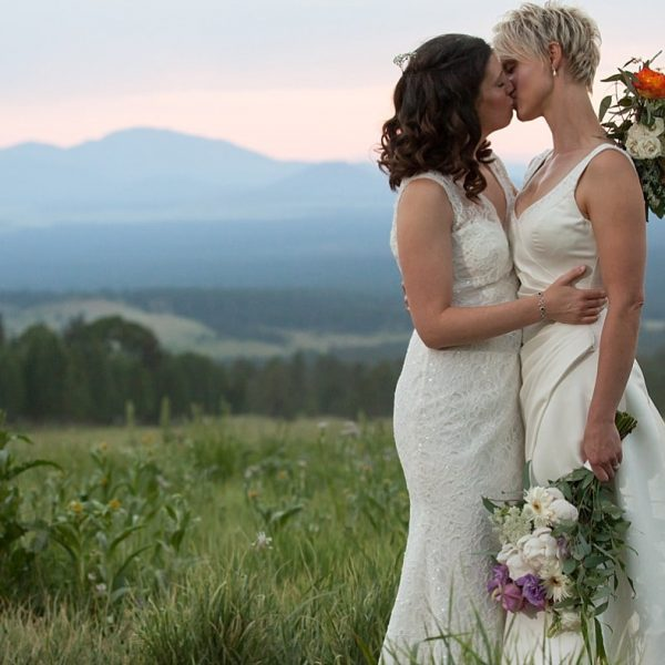 Arizona Snowbowl Resort Summer Wedding