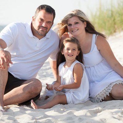 A Beach and Marina Family Session