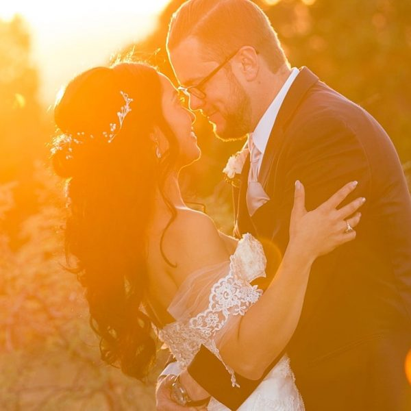 A Sunset Wedding at Sky Ranch Lodge