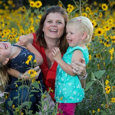 A Mother-Daughter Sunflower Mini Session