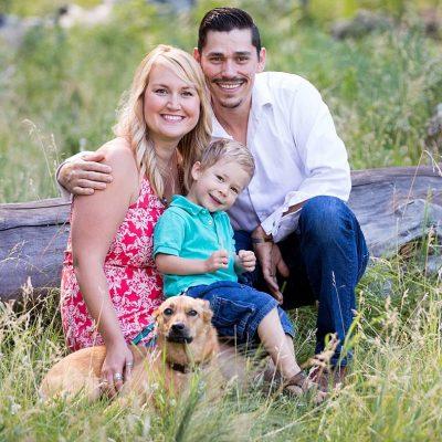 Summer Family Session at Aspen Corner