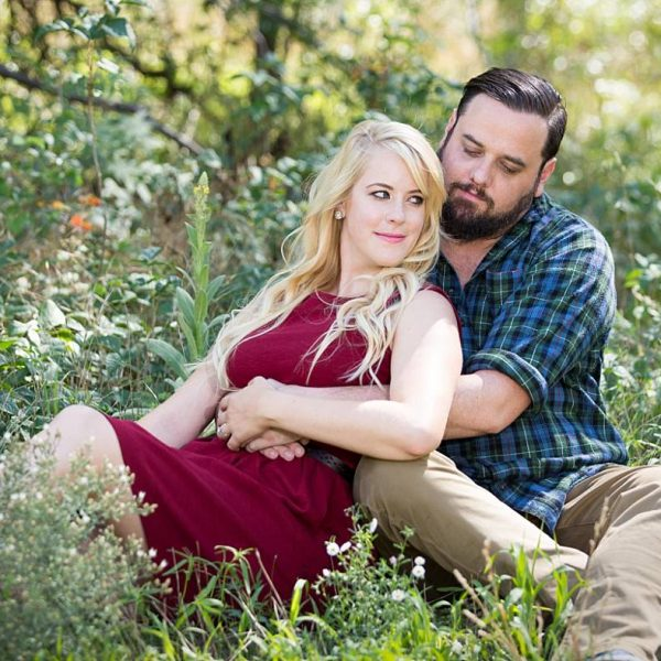 An Engagement Session in Oak Creek Canyon Sedona