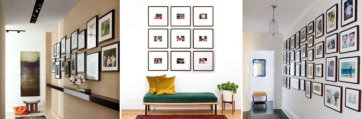 How to Arrange Family Photos