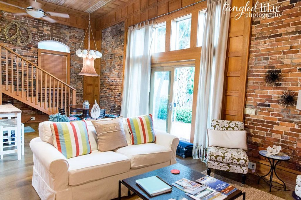 Funky cottage downtown Apalachicola Florida by Melissa Dunstan Real Estate Photographer